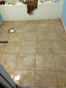 Castlegate grey tile