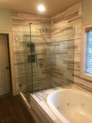 custom tile shower Columbia Missouri