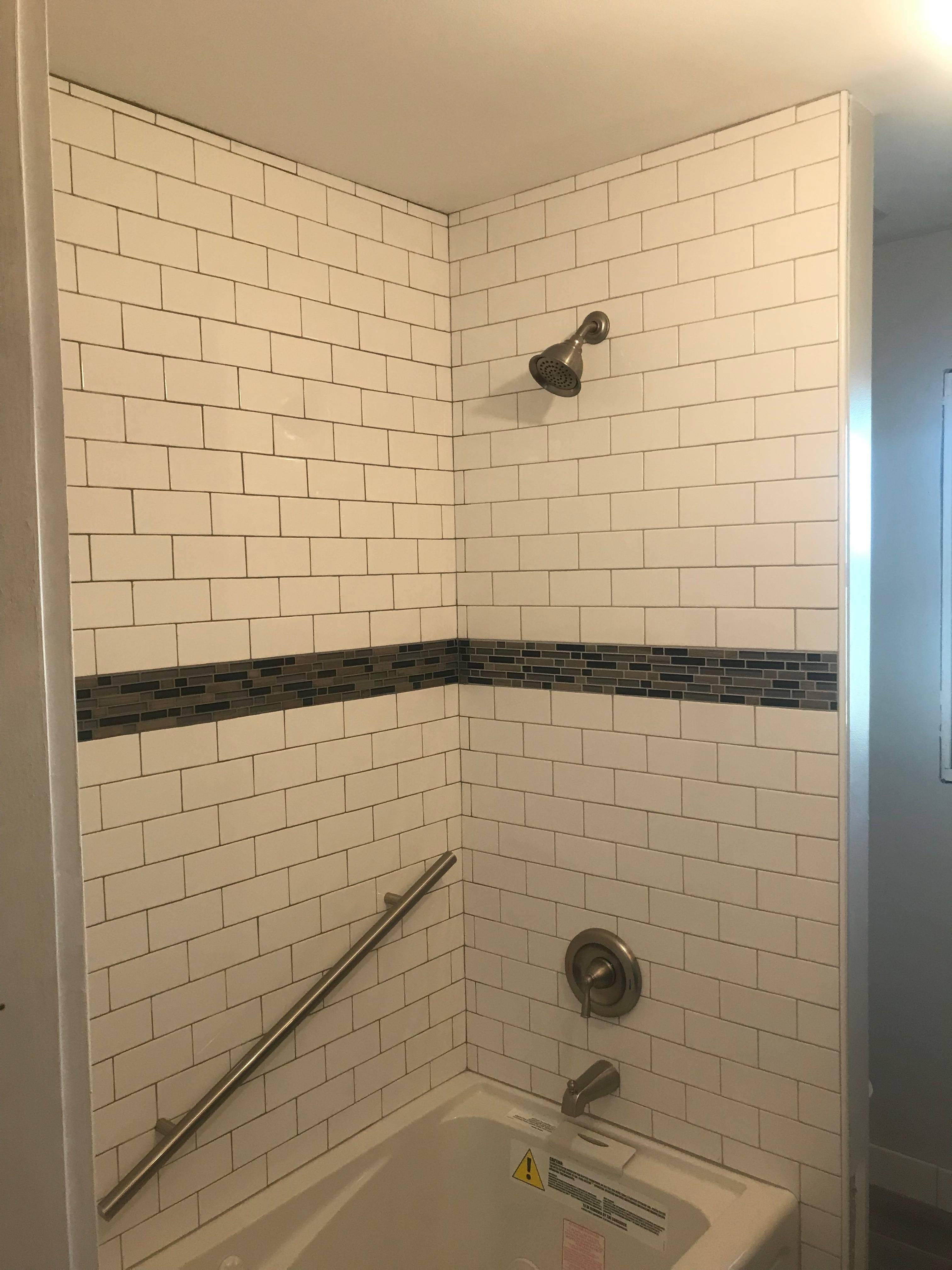 Eric Blumer Columbia Missouri Bathroom Remodel Tile Shower - Bathroom remodel columbia mo