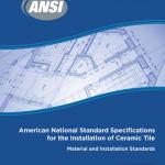 ANSI A108, ANSI A118, ANSI A136 handbook